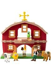 Station de Jeux La Ferme de Zenón avec des Figurines Bandai TO84300
