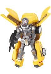 Coche Robô Conversível Amarelo