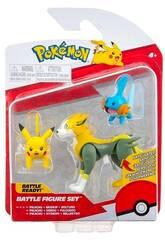 Pokémon Multipack 3 Figuras Bizak 63227225