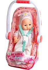 Bebé Unicornio 40 cm. con Silla Paseo
