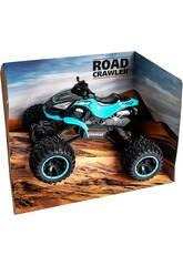 Télécommande 1:14 Quad Crawler Bleu Batterie 7.2V