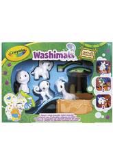 Washimals Safari Oasis Piscine avec quatre Chiots Crayola 74-7328