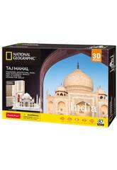 National Geographic Puzzle 3D Taj Mahal World Brands DS0981H