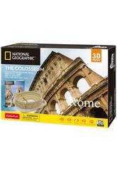 National Geographic Puzzle 3D Coliseo Romano World Brands DS0976H