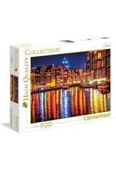 Puzzle 500 Amsterdam Clementoni 35037