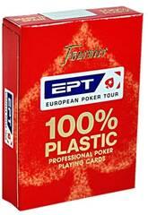 Jer de Cartes Poker EPT 100% Plástique Fournier 1040724
