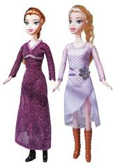 Princesse de Glace Set Deux Poupées et des Accessoires