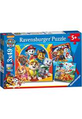 Paw Patrol Puzzle 3 in 1 Ravensburger 5048