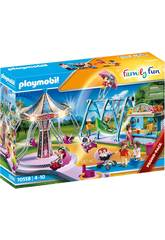 Playmobil Family Fun Grand Parc d'Attractions 70558