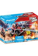 Playmobil Stuntshow pompiere Kart 70554