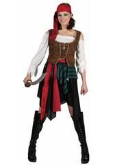 Disfraz Pirata Mujer Talla S