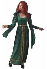 Disfraz Princesa Medieval para Mujer Talla L