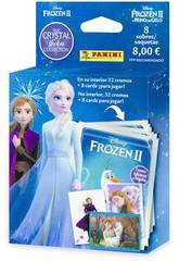 Frozen II Crystal Ecoblister 8 Envelopes Panini 003987KBE8