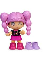 Pinypon Change My Shoes Figur Purple Haar Famosa 700016209