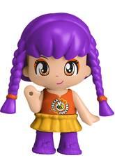 Pinypon Figur Serie 11 Violettes Haar Famosa 700016215