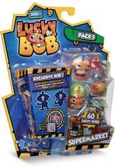 Lucky Bob Pack 5 Figurines à Thème Série 1 IMC Toys 81246