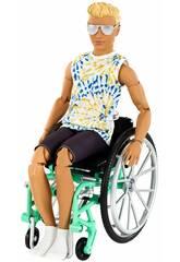 Ken Fashionista Silla de Ruedas Mattel GWX93