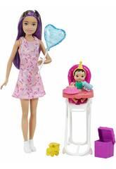 Barbie Skipper Morena Cumpleaños Mattel GRP40