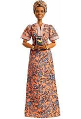 Barbie Colección Mujeres Que Inspiran Maya Angelou Mattel GXF46
