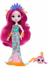 Enchantimals Royals mini-poupée Maura Sirène et Glide Mattel GYJ02