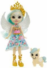 Enchantimals Mini-Poupée Paolina Pégase et Wingley Mattel GYJ03