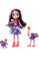 Enchantimals Familia Ofelia Ostrich Mattel GTM32