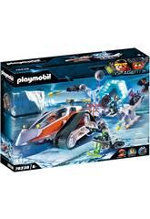 Véhicule de commande de la Spy Team Playmobil 70230