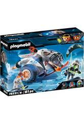 Playmobil TopAgents Spyteam Planador de Neve 70231
