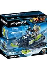 Playmobil TopAgents Artic Rebels Mota Gelo 70235