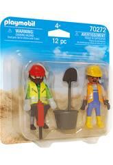 Playmobil Trabalhadores 70272