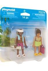 Playmobil Couple de Vacanciers 70274