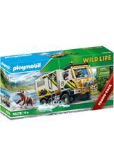 Playmobil Wild Life Camion d'Aventures 70278