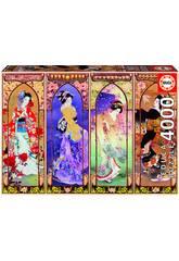 Puzzle 4000 Collage Japonés Educa 19055