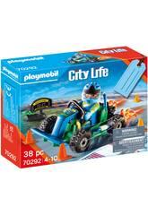 Playmobil Set Cadeau Pilote de Kart 70292