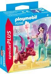 Playmobil Fée avec bébé dragon 70299