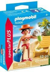 Playmobil Turista con amaca 70300
