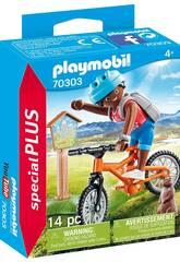 Playmobil motociclista di montagna 70303