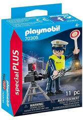Playmobil Polícia com Radar 70305