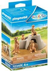 Playmobil Suricatas 70349