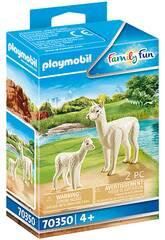 Playmobil Alpaga avec bébé 70350