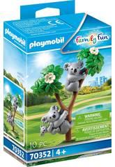 Playmobil Koalas avec bébé 70352