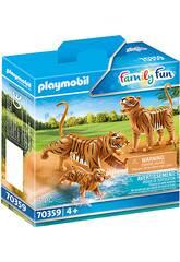 Playmobil Tigres con Bebé 70359