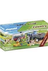 Playmobil Country Tractor de Carga con Tanque 70367