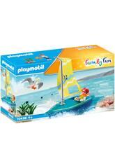 Playmobil Enfant avec Voilier 70438