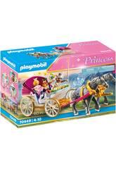 Playmobil Carruaje Romántico Tirado por Caballos 70449