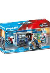 Playmobil City Action Escape de la Prisión 70568