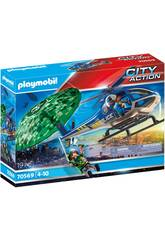 Playmobil City Action Persiguimento in Paracadute 70569