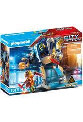 Playmobil City Action Robot Operación Especial 70571