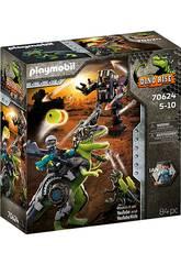 Playmobil Dinos T-Rex Batalla de los Gigantes 70624