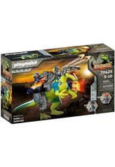 Playmobil Dinos Spinosaurus Doble Poder de Defensa 70625